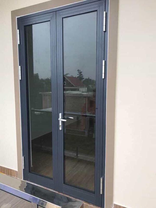 Mẫu cửa sổ nhôm kính Xingfa 2 cánh mở lùa
