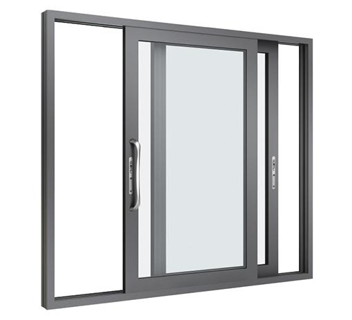Mẫu cửa sổ nhôm Xingfa 2 cánh mở trượt