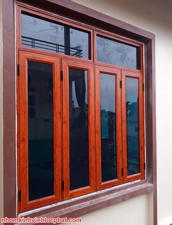 Cửa sổ nhôm Xingfa cao cấp 4 cánh đẹp