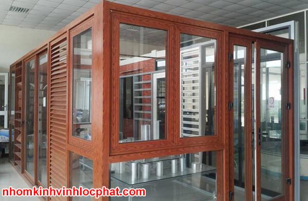 Văn phòng bằng khung nhôm kính Xingfa