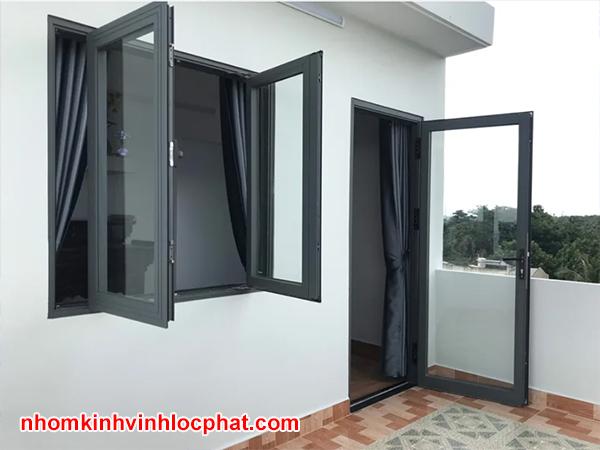 Mẫu cửa sổ nhôm Xingfa đẹp